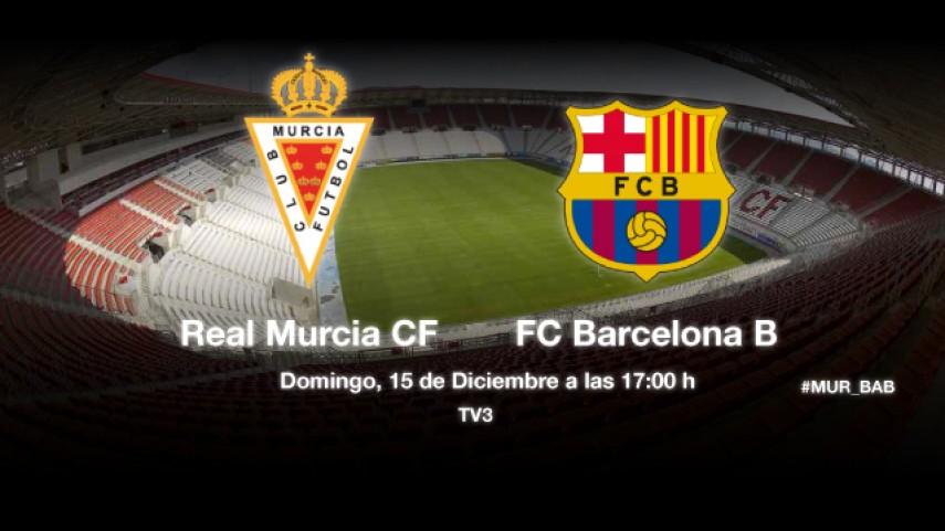 El Barcelona B no quiere caer en la trampa del Murcia
