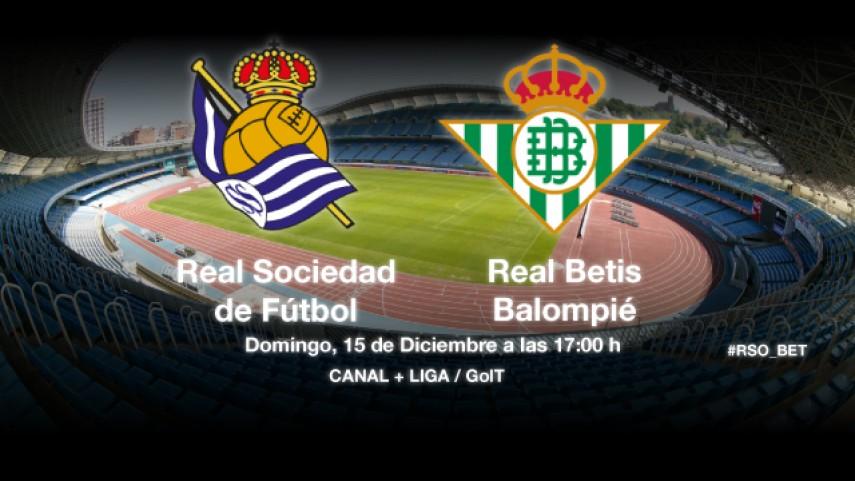 Real Sociedad y Betis quieren resarcirse en la Liga BBVA