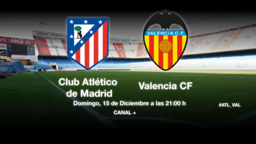 El Valencia quiere asaltar el fortín atlético