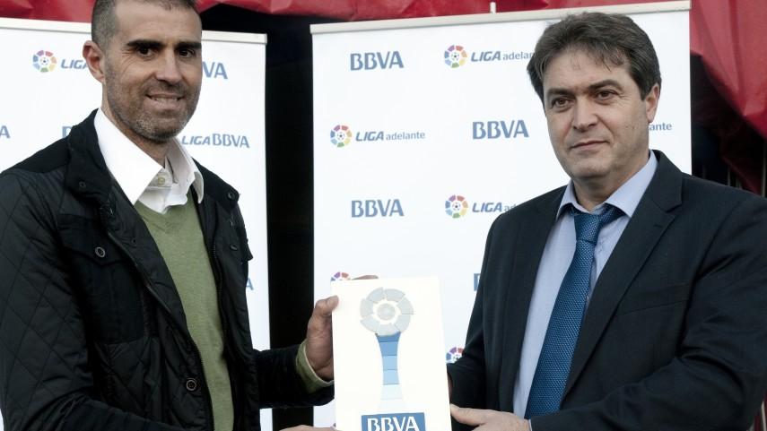 Garitano, mejor entrenador de la Liga Adelante en noviembre