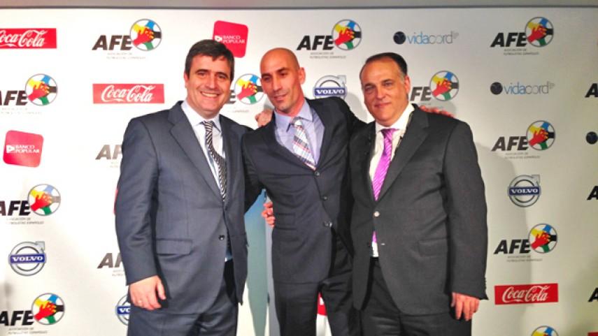 La LFP acompañó a la AFE en la inauguración de su sede