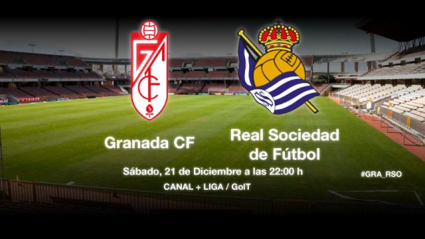 El Granada espera a una Real Sociedad en racha
