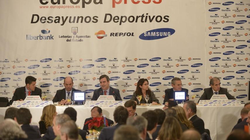 La LFP, presente en los 'Desayunos Deportivos' de Europa Press