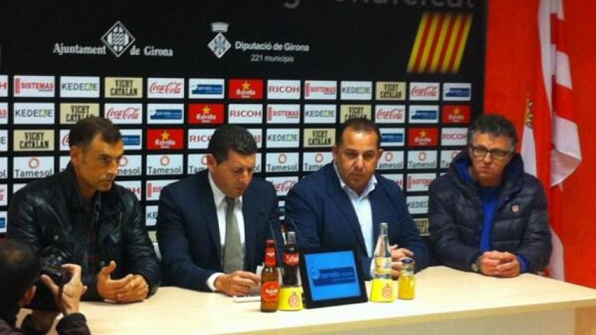 Javi López, nuevo entrenador del Girona