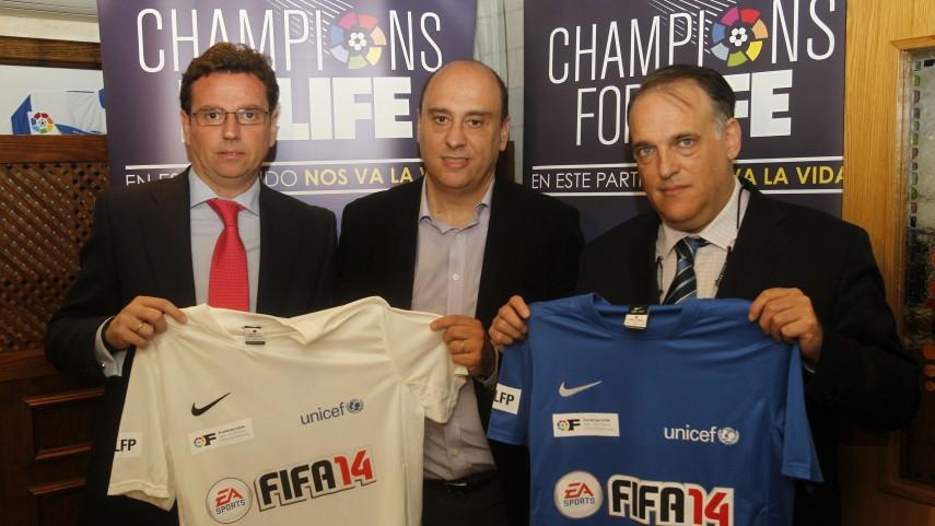 Los medios españoles, volcados con el 'Champions for Life'