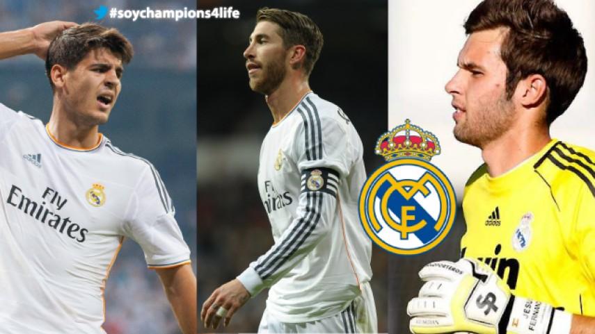 Sergio Ramos, Morata y Jesús estarán en 'Champions for Life'