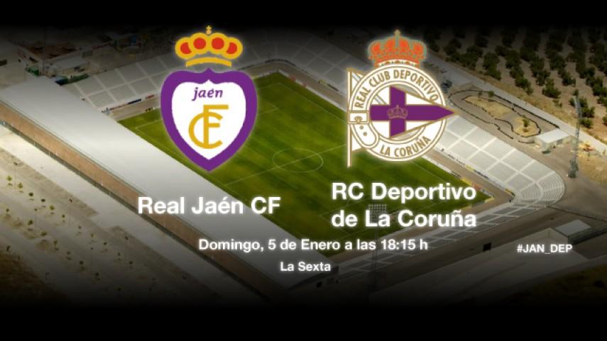 El Deportivo defenderá el liderato en Jaén