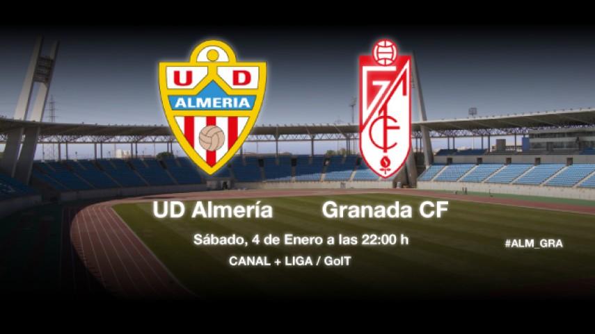 El Almería busca tomar impulso ante el Granada