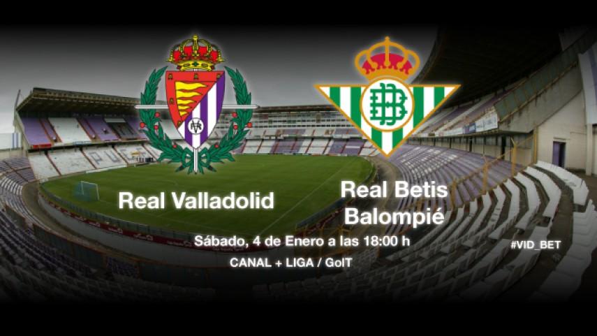 Valladolid y Betis quieren cambiar la dinámica