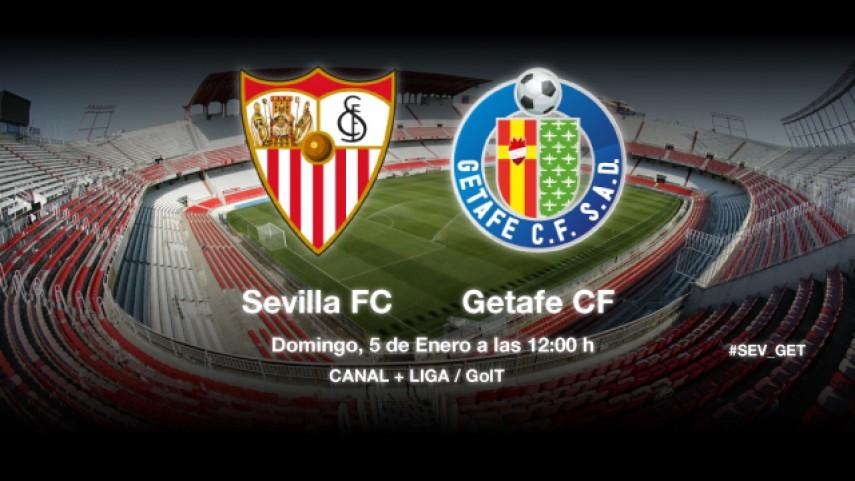 Sevilla y Getafe buscan acercarse a Europa