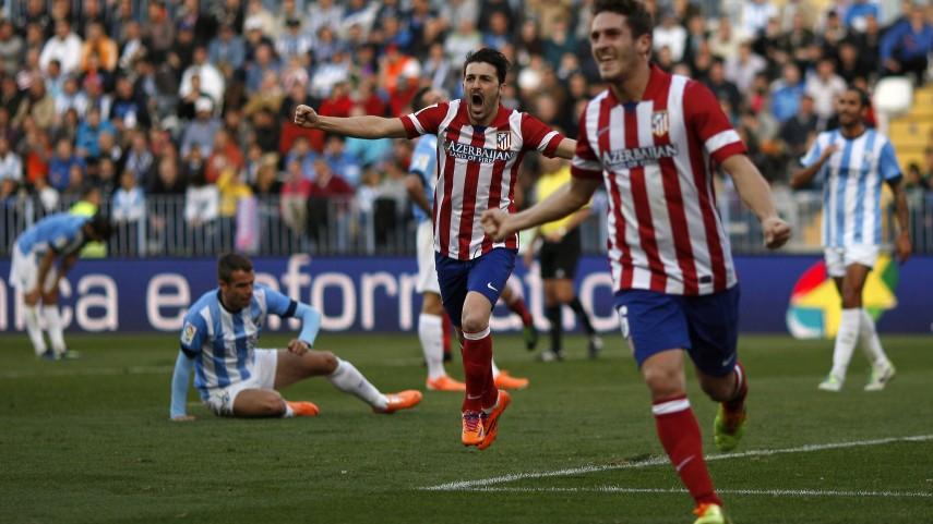 El Atlético dormirá líder en solitario