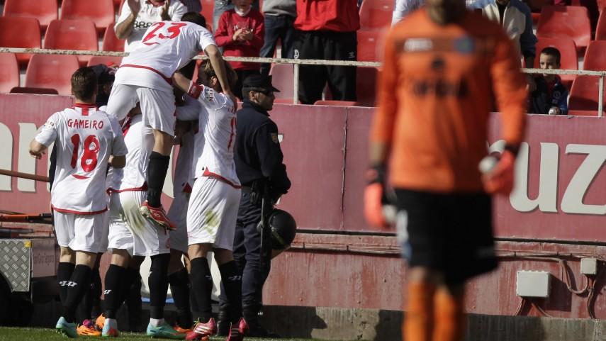 El Sevilla sigue en ascenso