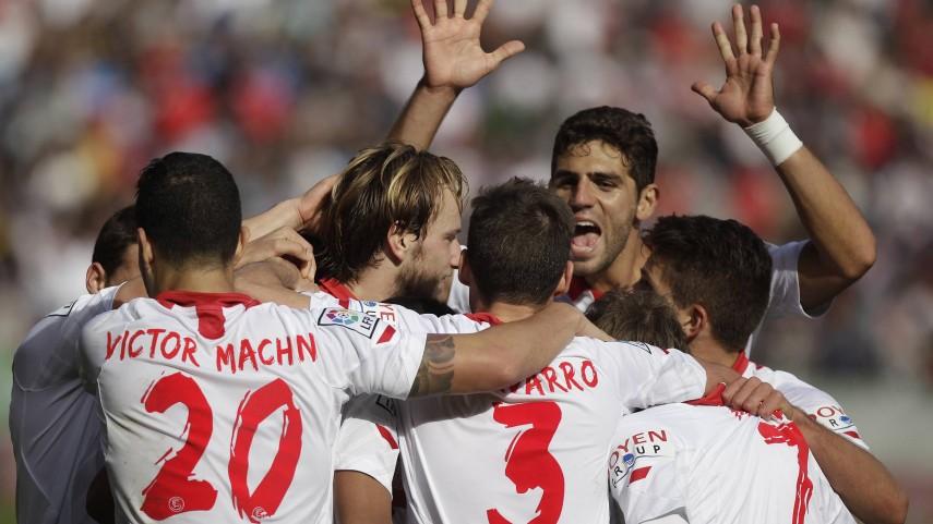 El Sevilla se engancha a Europa