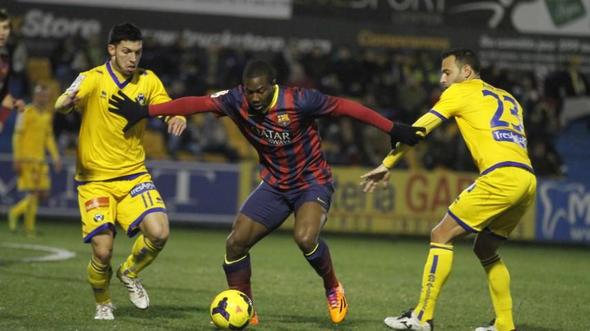 El Barcelona B renueva a Dongou y Bagnack