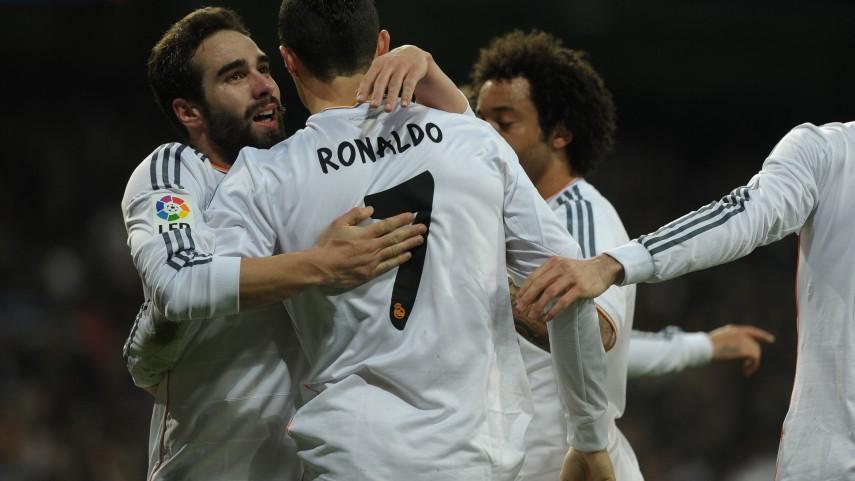 Ronaldo da un punto clave al Real Madrid
