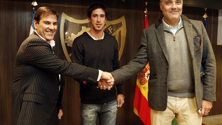 Pablo Pérez, primer fichaje invernal del Málaga