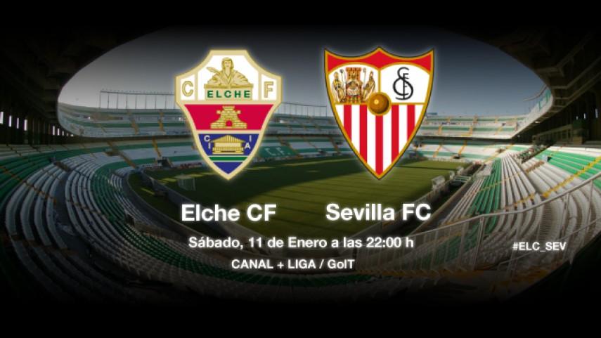 El Elche, a acabar con la racha del Sevilla