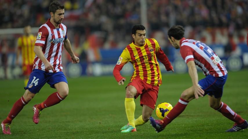 Atlético y Barcelona no se hacen daño