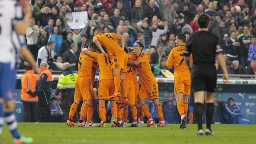El Real Madrid aprieta la cabeza de la Liga BBVA