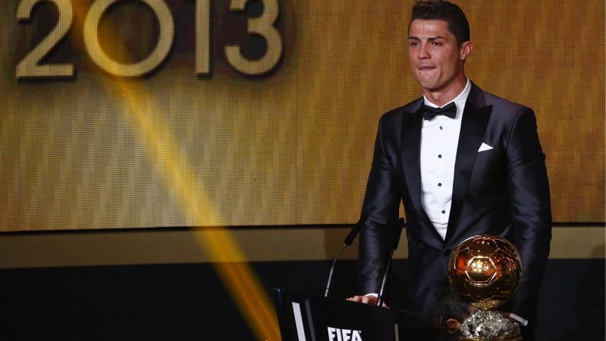 Cristiano Ronaldo gana el Ballon d'Or 2013