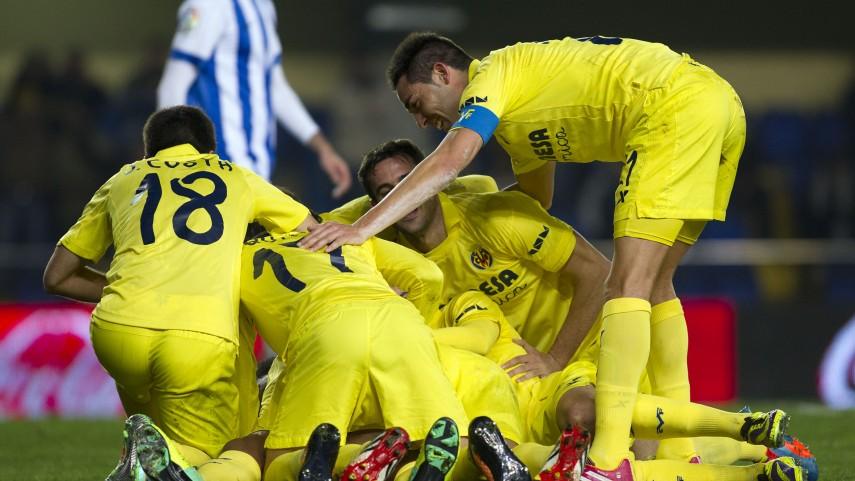 El Villarreal se desata en El Madrigal
