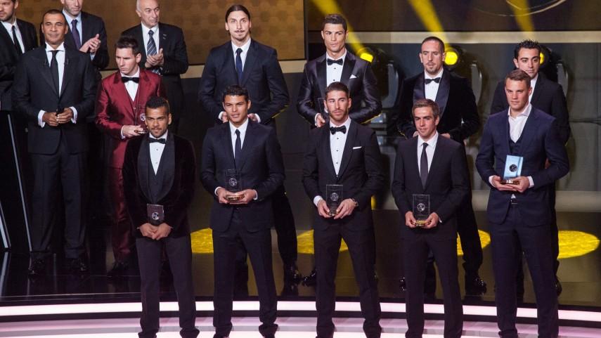 La Liga BBVA, muy presente en el XI ideal FIFA FIFPro