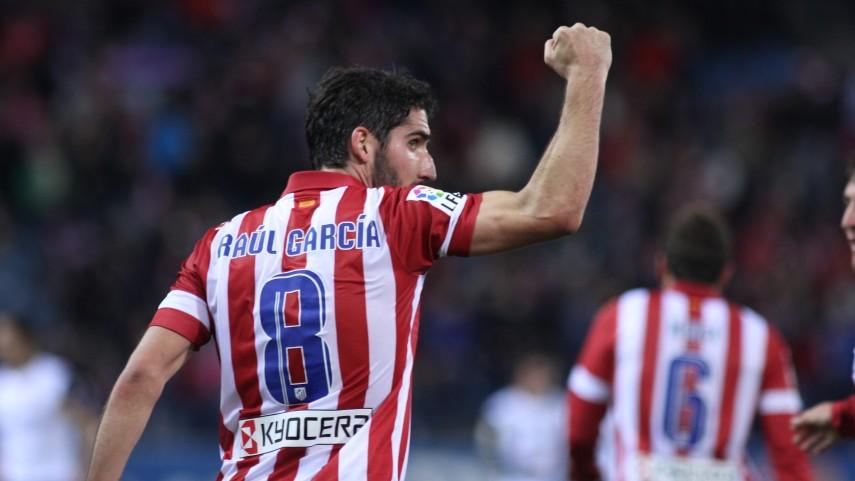 Raúl García será rojiblanco hasta 2018