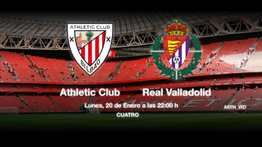 El Athletic, a prolongar su racha ante el Valladolid