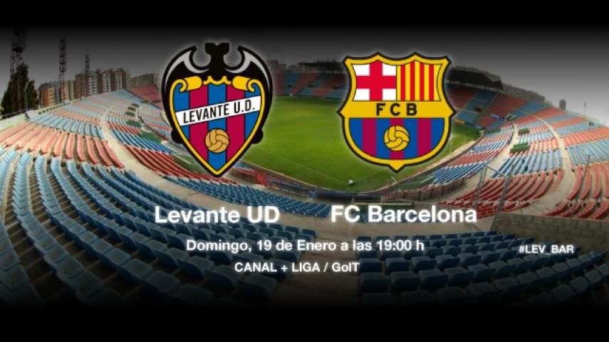 El Levante quiere frenar al Barça
