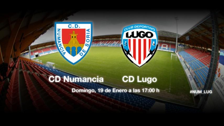 Numancia y Lugo, a dar un paso más