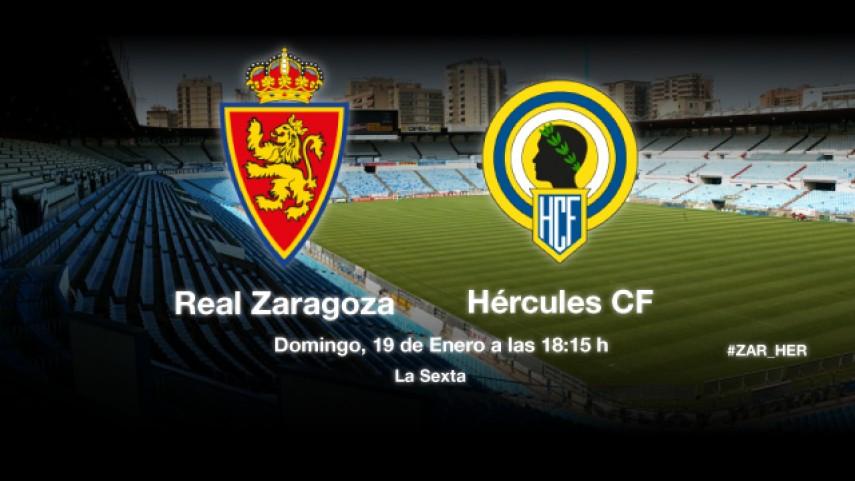 El Hércules quiere redimirse ante el Zaragoza