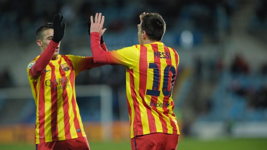 El Barcelona y la Real acarician el pase