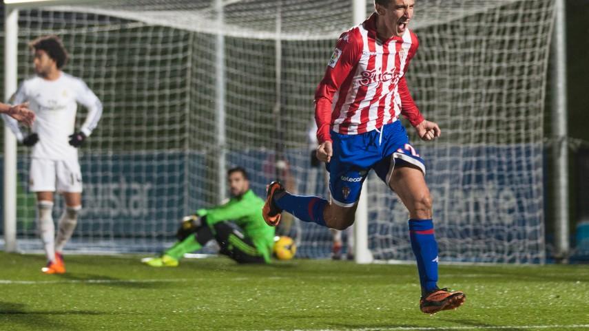 Šćepović es el gol de Gijón