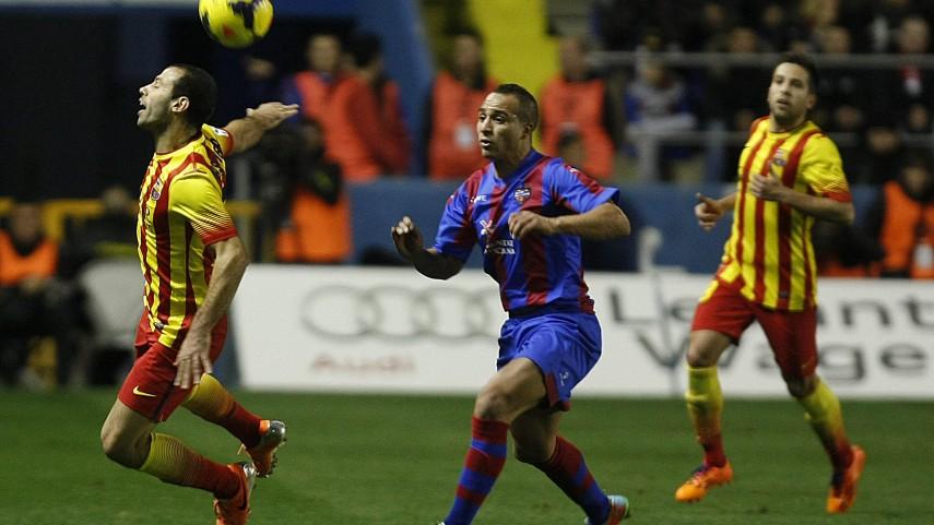 Levante, Barcelona y la Real, protagonistas en la Copa