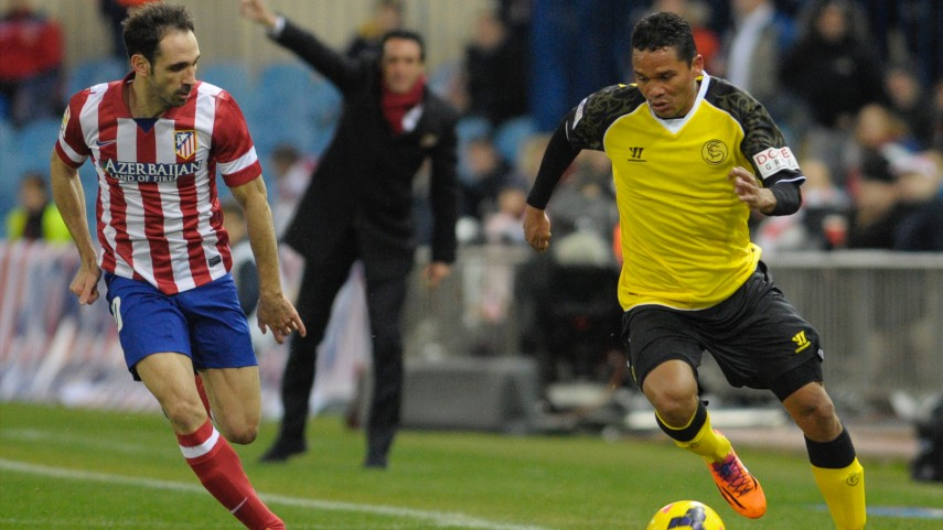 Atlético held by Sevilla