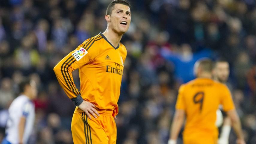 Cristiano Ronaldo, lesionado