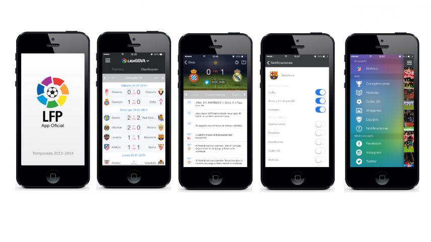 La LFP ya tiene nueva app