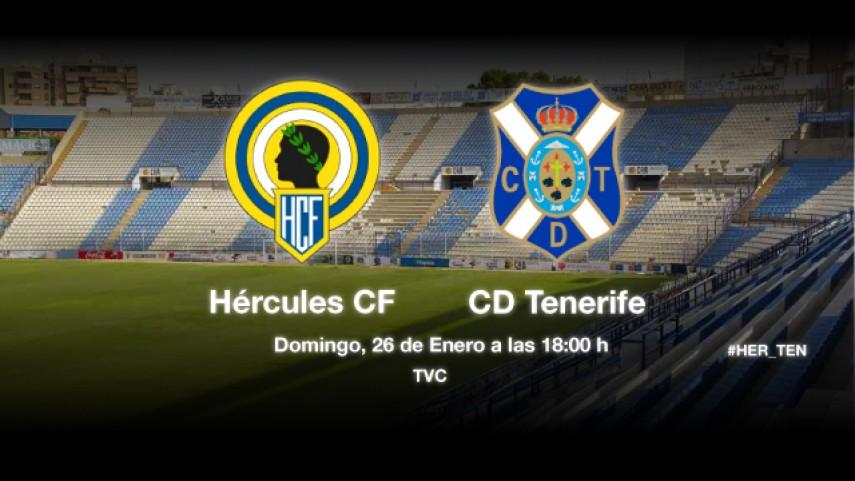 Hércules y Tenerife lucharán por huir del descenso