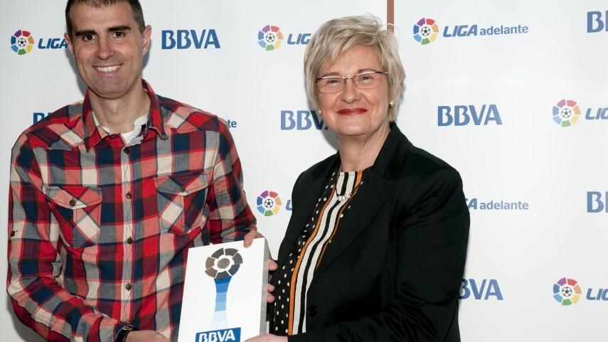Garitano, mejor entrenador de la Liga Adelante de diciembre