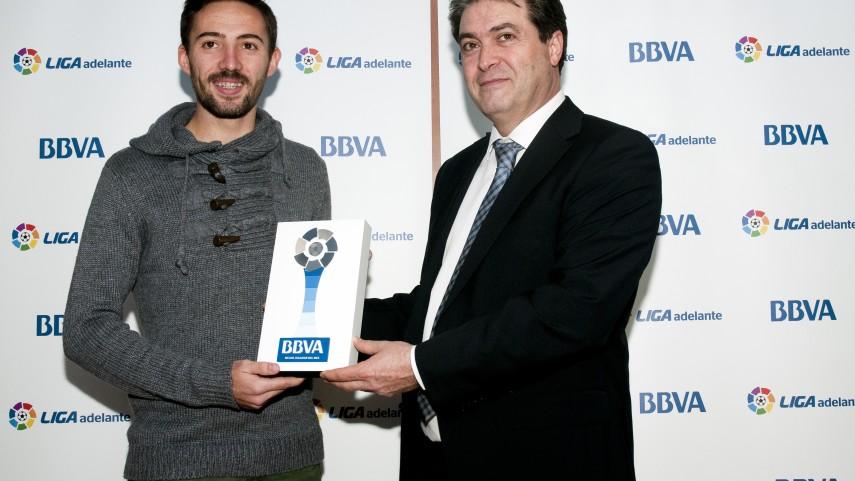 Morales, mejor jugador de la Liga Adelante en diciembre