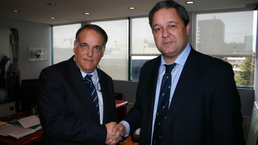 La LFP dio la bienvenida a Constantino Fernández