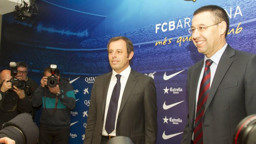 Bartomeu, nuevo presidente del Barcelona