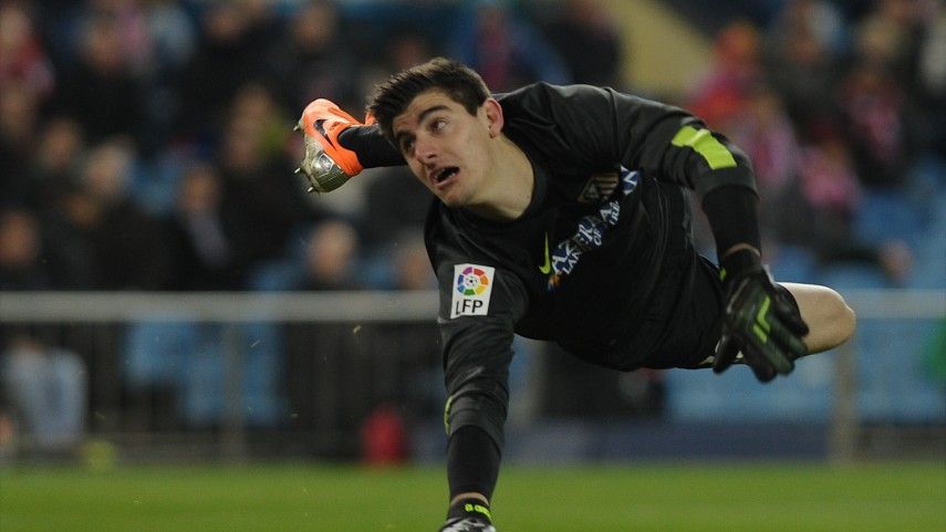 Courtois, experienced youth