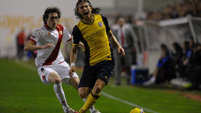 Filipe Luis, lesionado en el Atlético