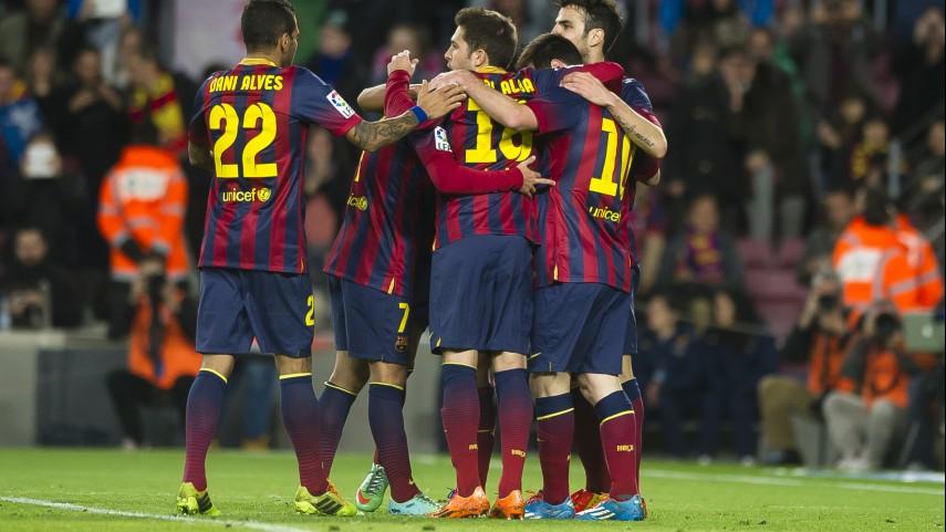 Paso de gigante para el Barcelona en Champions