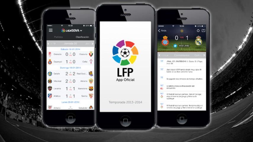 Disfruta de la nueva app de la LFP