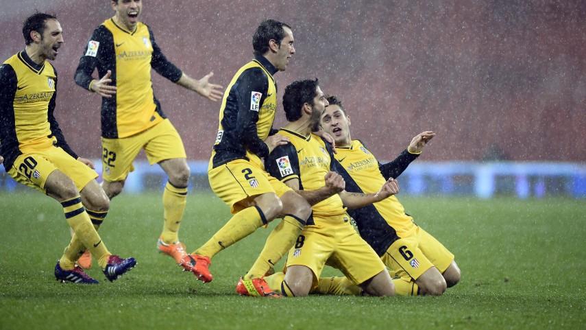 Atlético y Barcelona pasan a semifinales