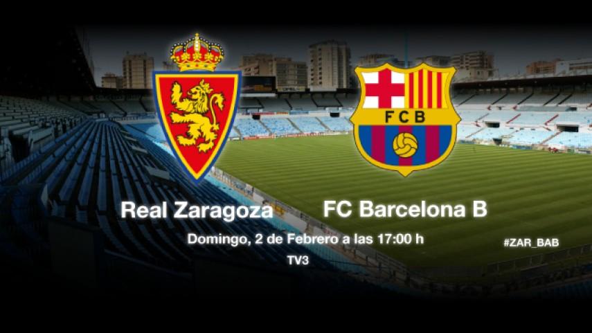 El Barcelona B, un visitante incómodo para el Zaragoza