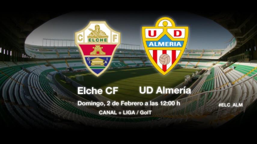 Elche y Almería pujan por la permanencia