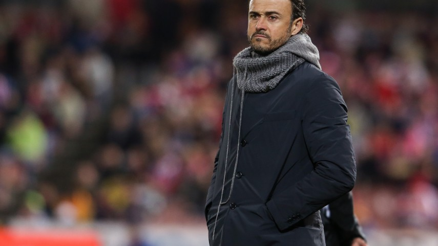 Luis Enrique llega al Barcelona